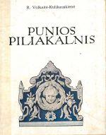 Volkaitė-Kulikauskienė, Regina. Punios piliakalnis. – Vilnius, 1974. Knygos viršelis