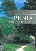 Krušinienė, Emilija. Punia laiko verpetuose. – Marijampolė, 2013. Knygos viršelis